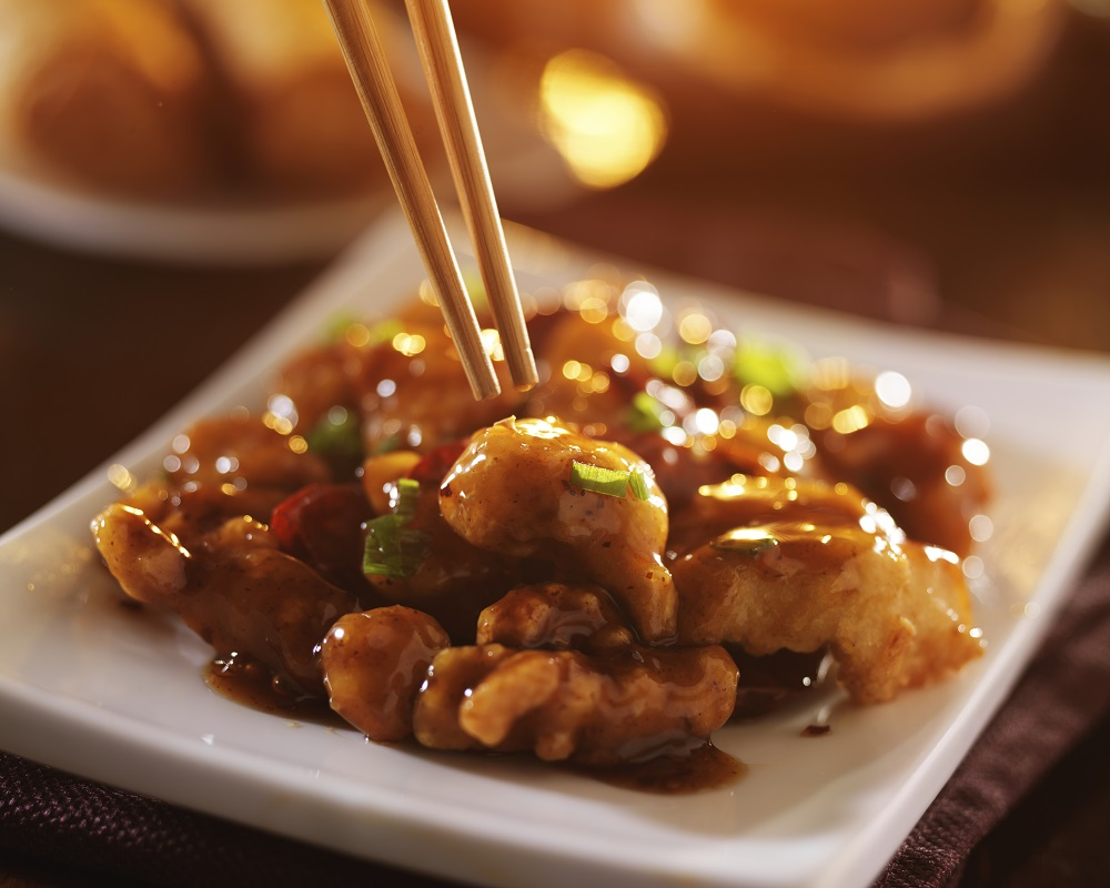 Chinese food can contain processed ingredients