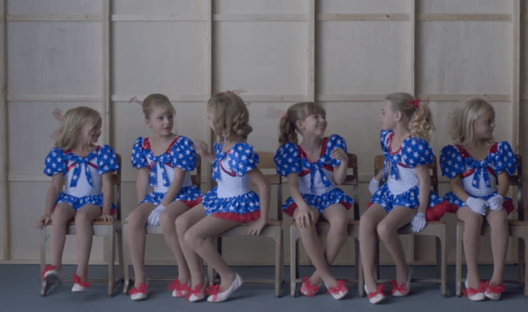 A photo from Netflix's new documentary Casting JonBenet