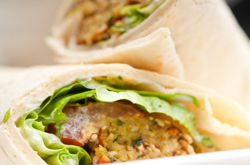 falafel wraps