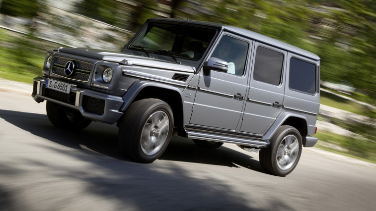 The Mercedes-AMG G65