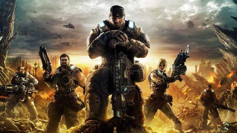 The heroes of Gears of War 3