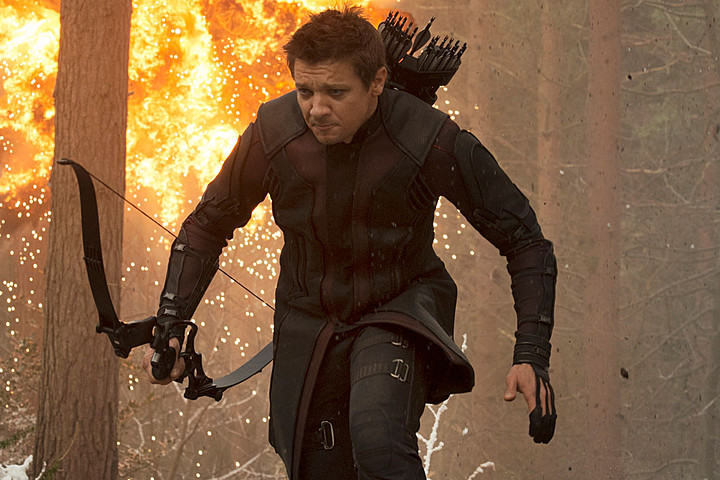 Jeremy Renner in The Avengers | Source: Marvel