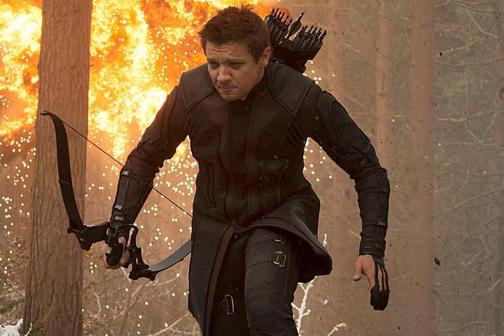 Jeremy Renner as Hawkeye