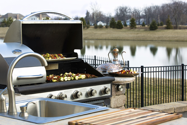 Outside Kitchen Barbeque iStock