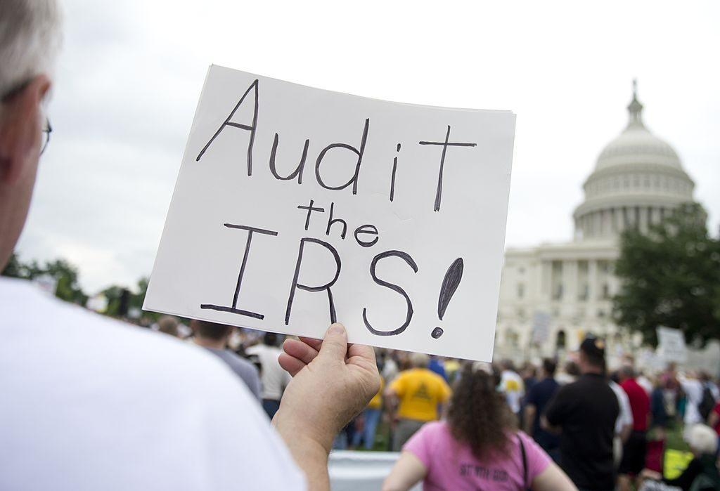 audit the IRS sign