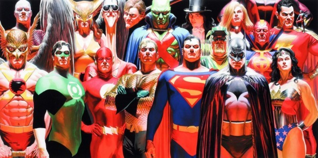 Justice League - DC/Warner (Artwork by Alex Ross)