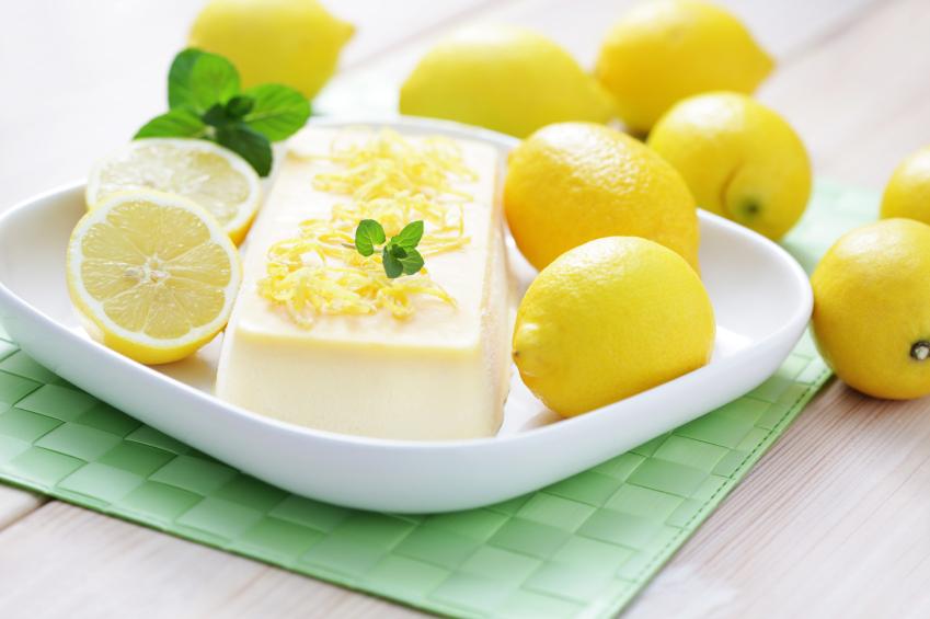 ... semifreddo cake roll with honey semifreddo lemon semifreddo