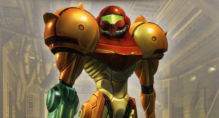 Samus from Metroid Prime