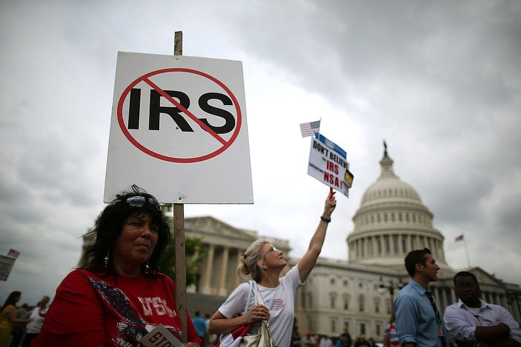 no IRS sign
