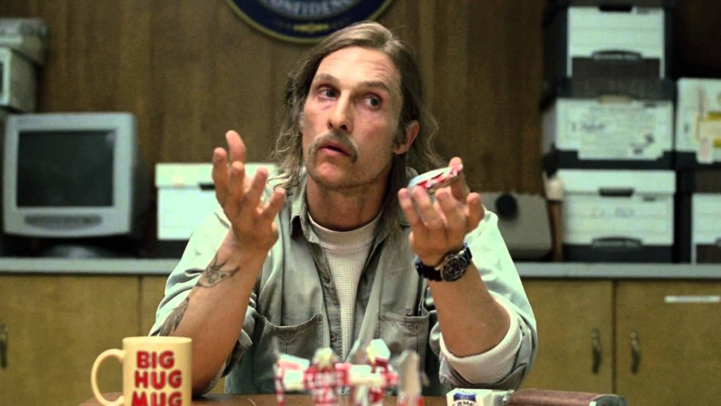 Matthew McConaughey in 'True Detective'