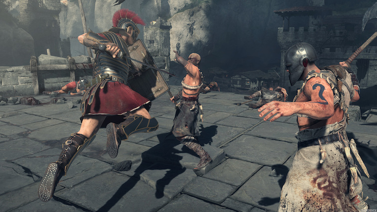 Warriors battling in 'Ryse: Son of Rome'