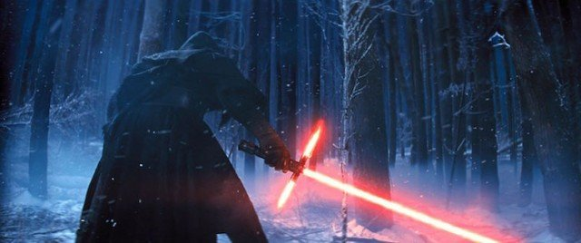 Kylo Ren as seen in 'Star Wars: The Force Awakens'