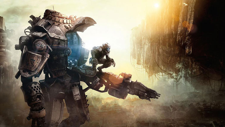 A titan from the first-person shooter Titanfall.