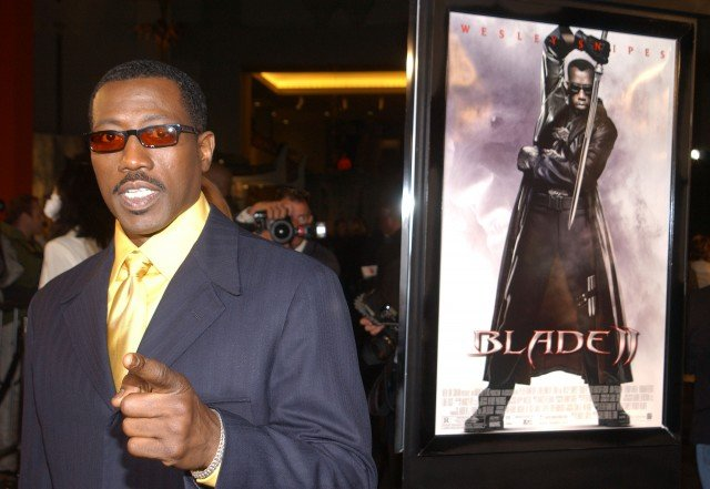 Wesley Snipes at the Blade 2 premiere