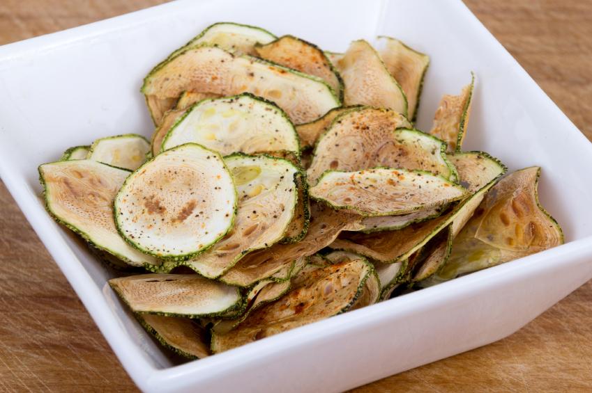 zucchini thin chips