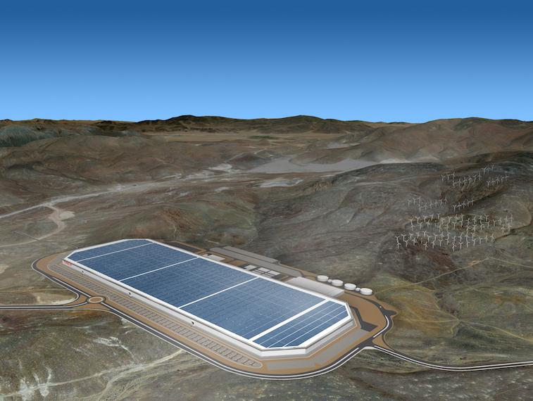Tesla Motors Gigafactory source: Tesla