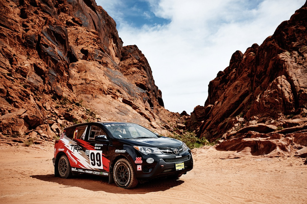 Toyota goes rallying with a stock rav4 publicscrutiny Images
