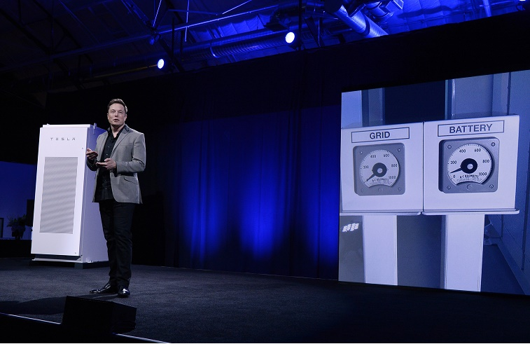 Tesla Unveils New Battery System