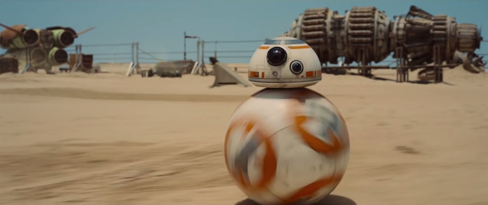 BB-8 in The Force Awakens