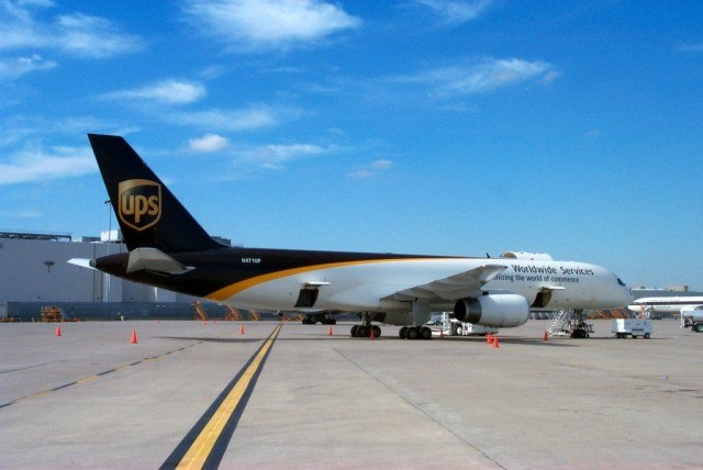 UPS Boing 757