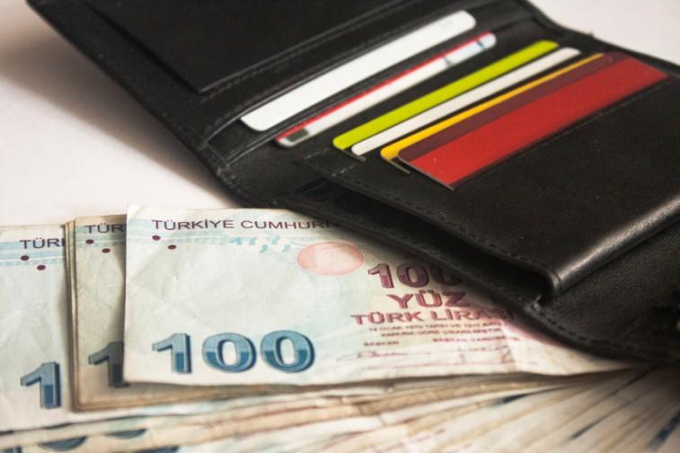 wallet, money, credit cards