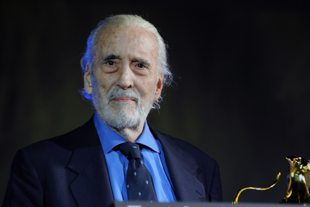 Christopher Lee | Pier Marco Tacca/Getty Image