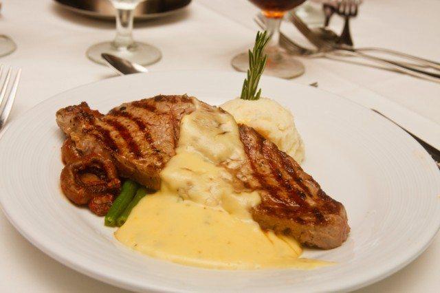 steak, bearnaise