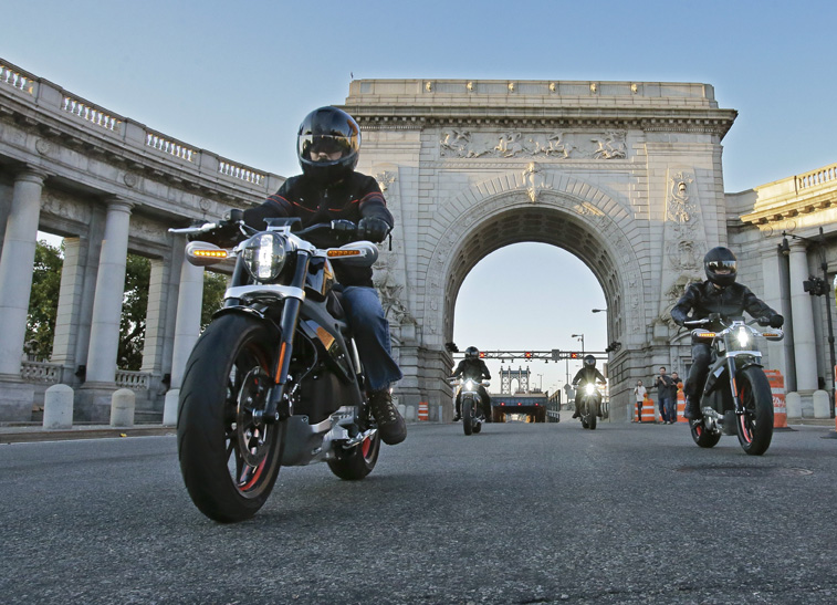 Harley-Davidson Project Livewire in New York