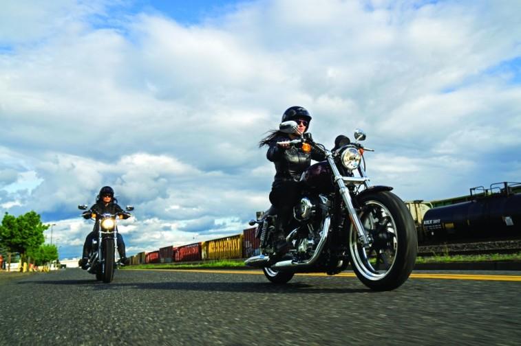 Harley Davidson Sportster XL 1200 Women