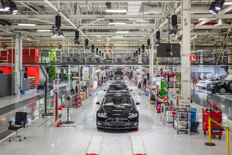Tesla Fremont Factory Source: Tesla