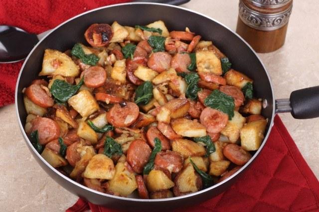 kielbasa potato skillet