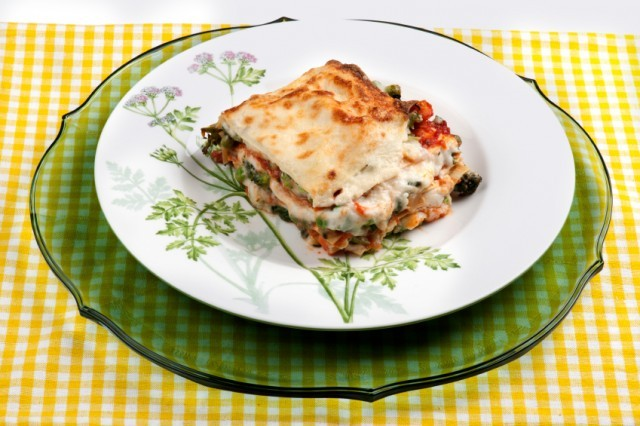 lasagna is a delicious pasta casserole to make for dinner