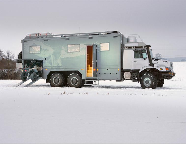 Custom ATV Storage