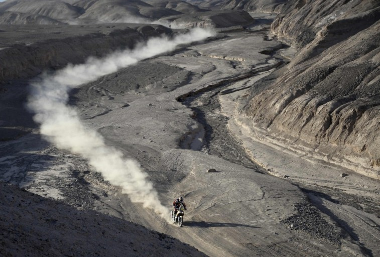 Motorcycle Dust