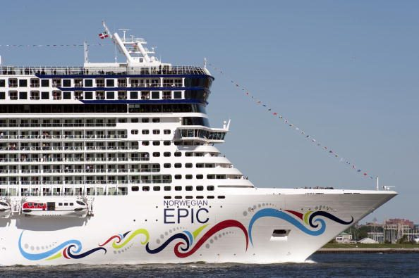 The Norwegian Epic on her Maiden Voyage from Southampton to New York