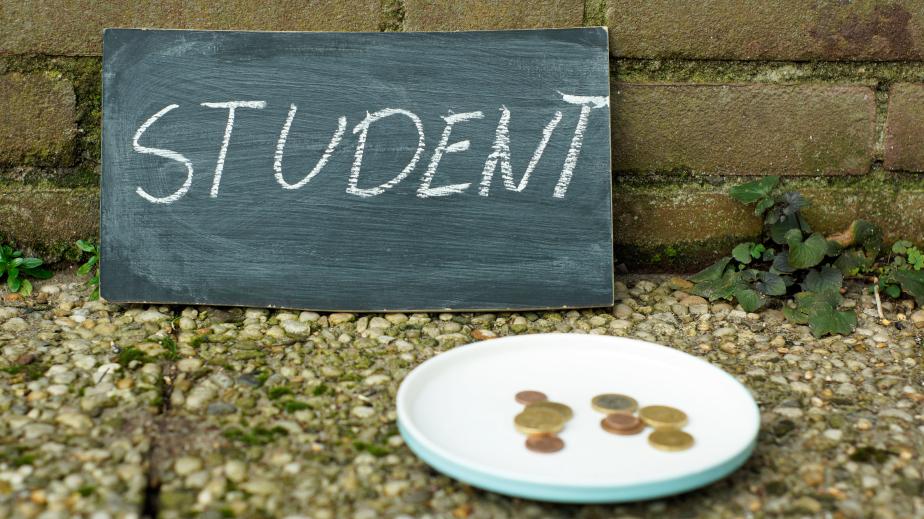 Money for broke college student