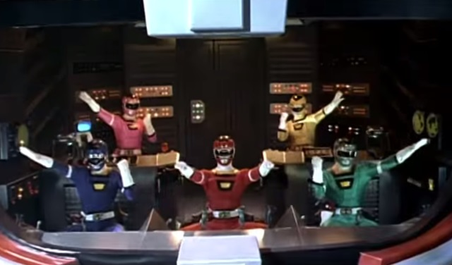 Power Rangers TV show