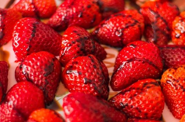 strawberry, balsamic