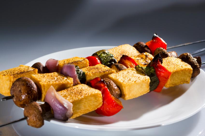vegetarian, kebab