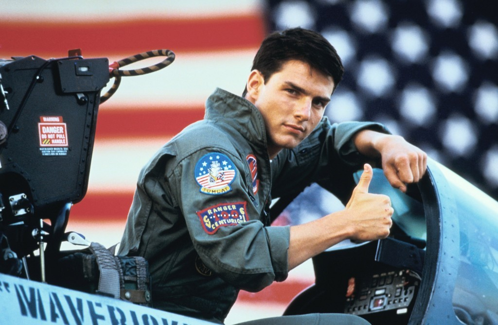 Top Gun, and that loving feeling
