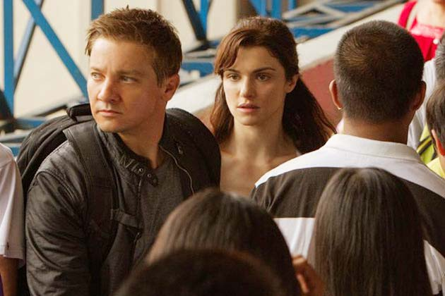 Jeremy Renner and Rachel Weisz in 'The Bourne Legacy.'
