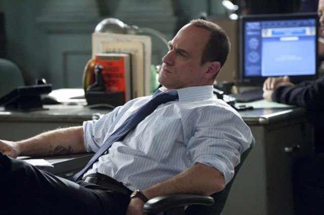 Christopher Meloni as Detective Elliot Stabler in 'Law and Order: SVU.'