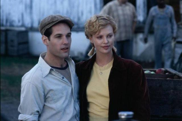 Paul Rudd and Charlize Theron in 'The Cider House Rules.'
