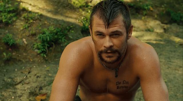 Chris Hemsworth in A Perfect Getaway