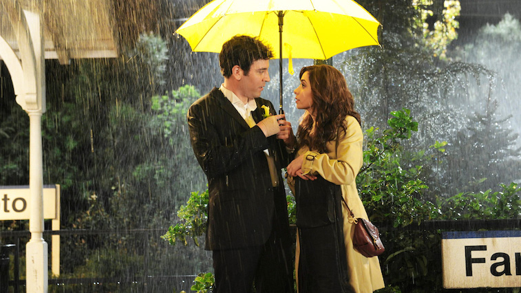 Scene from How I Met Your Mother.