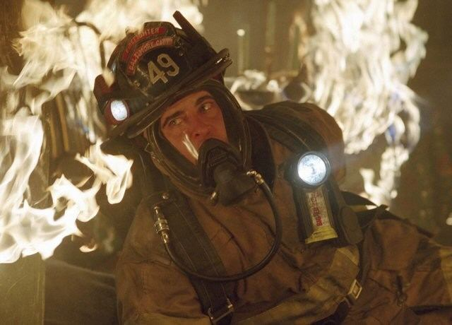 Joaquin Phoenix in 'Ladder 49.'