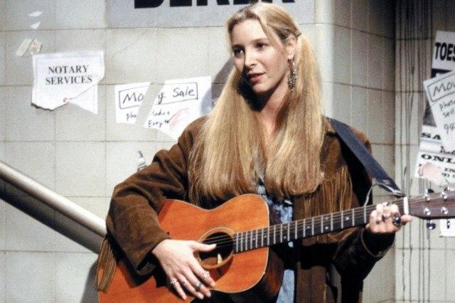 Lisa Kudrow as Phoebe Buffay in 'Friends.'