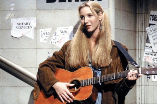 Lisa Kudrow as Phoebe Buffay in 'Friends.'