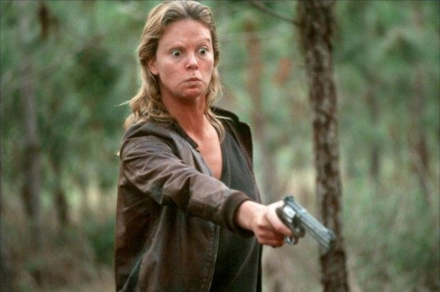 Charlize Theron as Eileen Wuornos in 'Monster.'