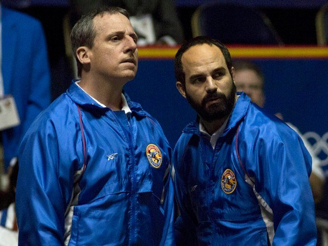 Steve Carrell and Mark Ruffalo in 'Foxcatcher.'